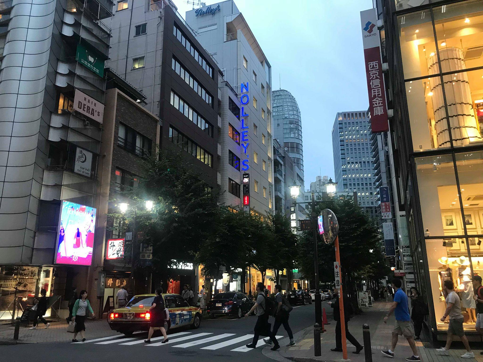 【レポート】18年7月5日銀座一丁目、旅するトーク