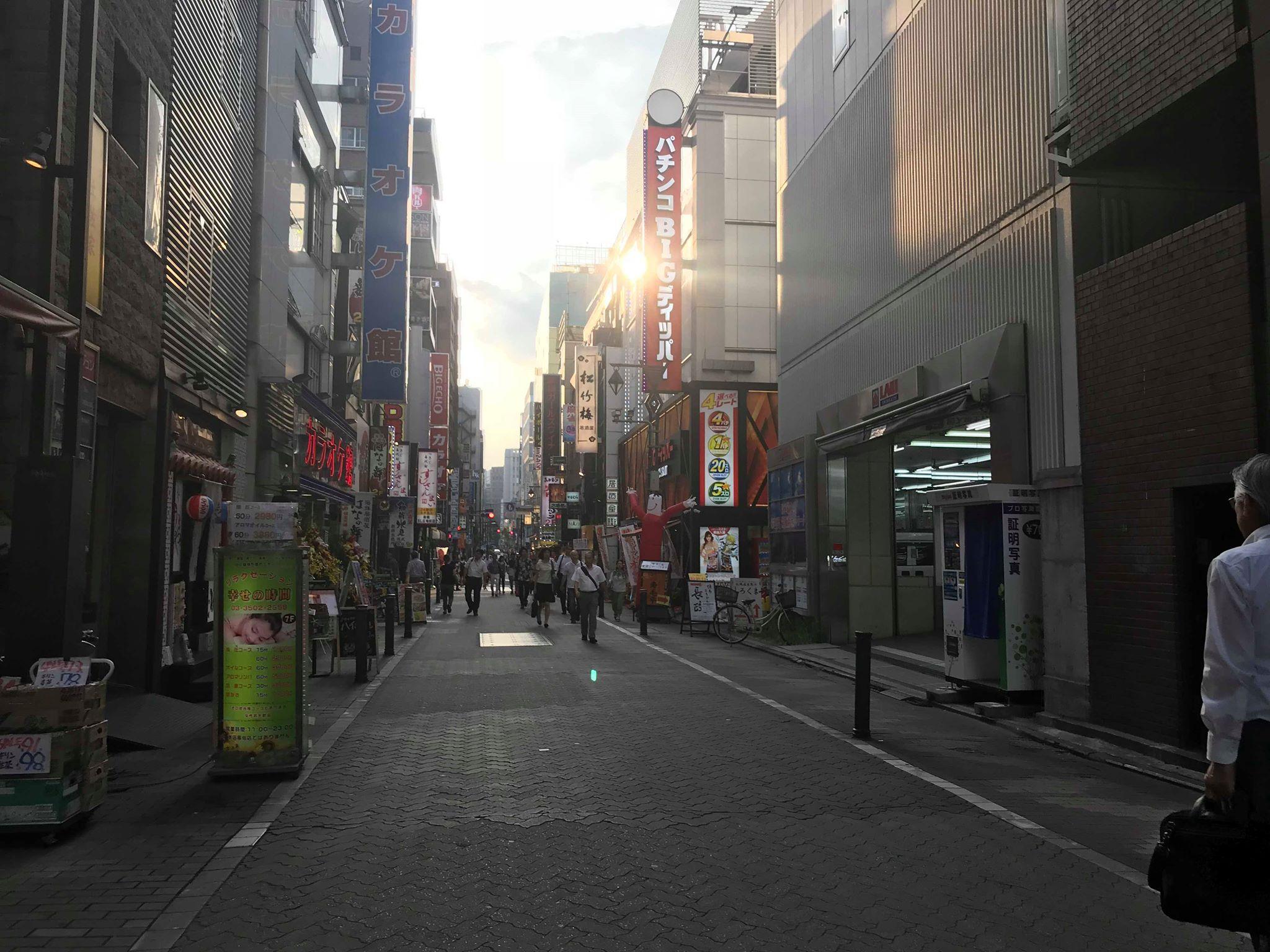 【レポート】18年7月24日新橋、旅するトーク